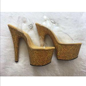Pleaser Size 8 ADORE-708LG Stripper Platform Heel
